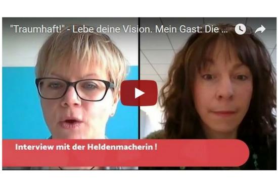 """""""Traumhaft!"""" – Ich interviewe Die Heldenmacherin"""